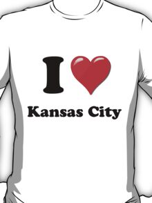 I Love Kansas City T-Shirt