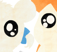 Hamtaro and Bijou Sticker