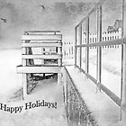 Happy Holidays ~ Greeting Card by Susan Werby