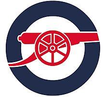 Arsenal Mod Photographic Print