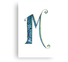 The Letter M Canvas Print