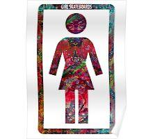 GIRL Skateboards Poster
