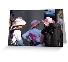 Breast cancer, everyone deserves a lifetime Greeting Card