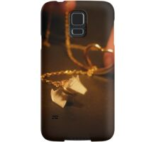 Puppy on a Neckleash Samsung Galaxy Case/Skin