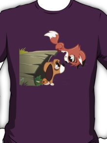 The Fox & The Hound - Todd and Copper T-Shirt