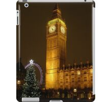 Big Ben ticks Goodnight iPad Case/Skin
