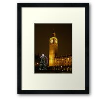 Big Ben ticks Goodnight Framed Print