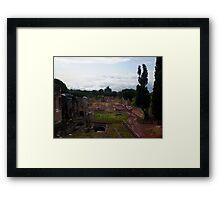 Hadrian's Villa Framed Print