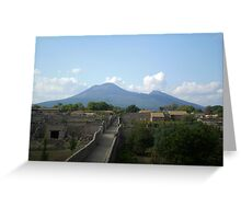 Pompeii after the Volcano Greeting Card