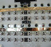 Switches, Royal Yacht Britannia, Edinburgh by Robert Steadman