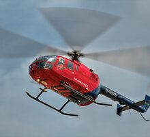 MBB BO-105 Air Ambulance  by © Steve H Clark