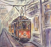 Old tram by torishaa
