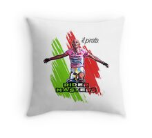 Marco Pantani Style - Italy -> Il Pirata (The Pirate) Throw Pillow