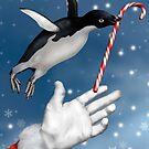 Christmas Penguin by Paul Fleet