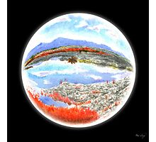 Landscape in a Ball Photographic Print