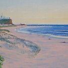 Early Morning, Nobbys Beach, Newcastle, NSW, Australia by Carole Elliott
