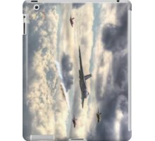 Avro Vulcan And The Gnat Display Team Dunsfold 2014 - HDR iPad Case/Skin