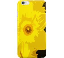 SPRINGTIME DAFFODIL iPhone Case/Skin