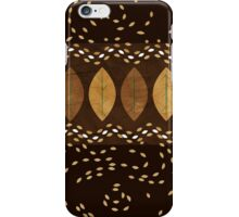 Mocha Hazelnut Autumn  iPhone Case/Skin