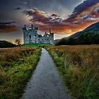 Kilchurn Castle by Kathy Weaver