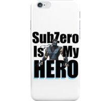 SubZero Is My Hero iPhone Case/Skin
