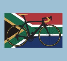 Bike Flag South Africa (Big - Highlight) Kids Clothes