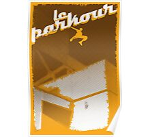 Parkour print Poster