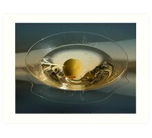 Martini and Olive Art Print