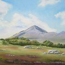 Croagh Patrick by Geraldine M Leahy