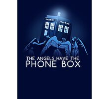 The Angels Have the Phone Box Photographic Print