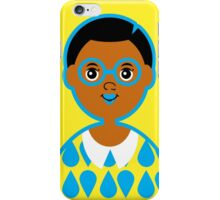 Girl 3 - Goggles and Raindrops iPhone Case/Skin