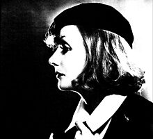 Greta Garbo With Classy Hat Profile by Museenglish