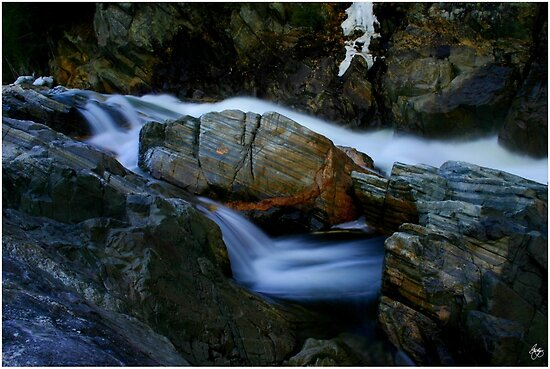 The Colors of Livermore Gorge, Plymouth, NH by Wayne King