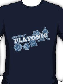 Favorite Platonic Love Since 74 Faded T-Shirt