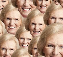Mary Berry Print  by duckpie