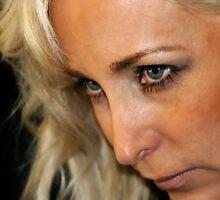 Blond Woman Strict by Henrik Lehnerer
