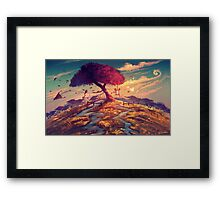 Sakura Tree Framed Print