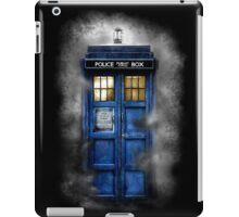 Haunted blue phone booth iPad Case/Skin