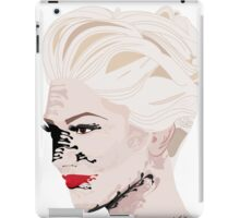 Melted Gwen Stefani iPad Case/Skin