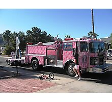 Pink Ribbon Tour Photographic Print
