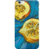 Two pieces of a pumpkin iPhone Case/Skin