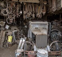 Hupmobile in Garage - Toppenish WA by Ralf372
