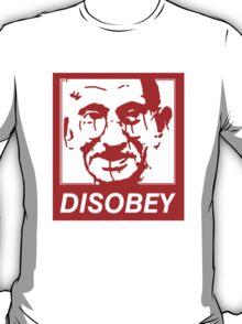 Gandhi DISOBEY (red) T-Shirt