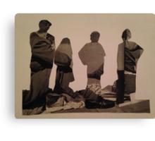 Accidental Dali Collage. Canvas Print