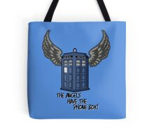 The Angels Have the Phone Box - Doctor Who Tote Bag