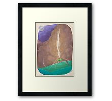 CT : Make your own way (24 left) Framed Print
