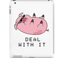 DEAL WITH WADDLES iPad Case/Skin