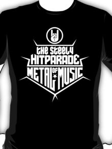 The steely Hitparade of Metal Music 2 (white) T-Shirt
