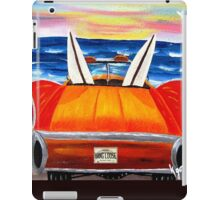 SAYS DONE FOR SURFING SUN GOIN' DOWN iPad Case/Skin