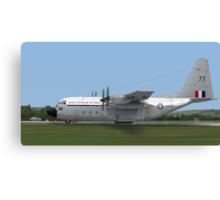 Royal Australian Air Force C-130 Hercules Canvas Print